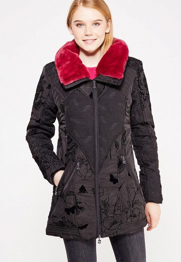 Куртка утепленная Desigual Desigual DE002EWULA48 куртка desigual куртка