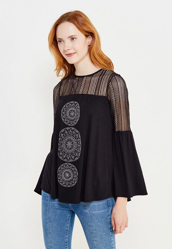 Блуза Desigual Desigual DE002EWULB07 блуза jacqueline de yong jacqueline de yong ja908ewxaf30