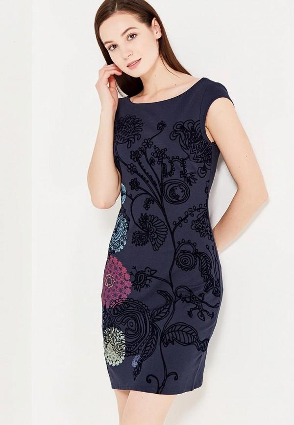 Платье Desigual Desigual DE002EWULC34 платье desigual desigual de002ewoqr00