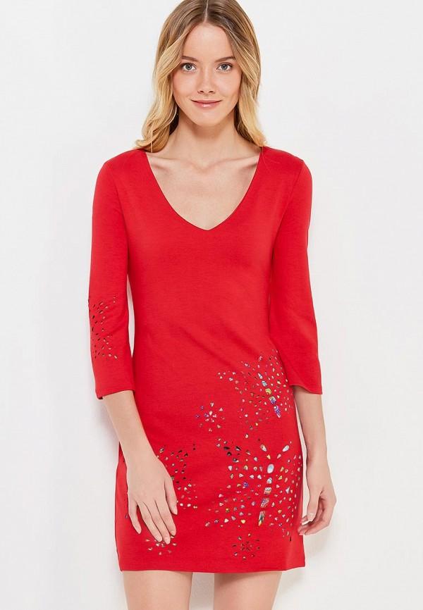 Платье Desigual Desigual DE002EWULC35 цены онлайн