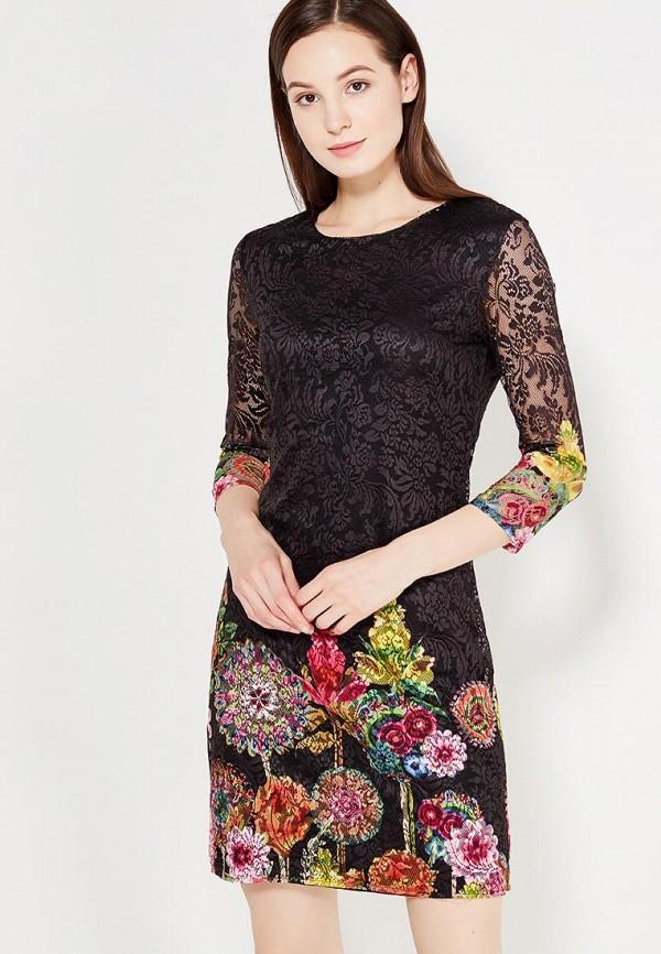 Платье Desigual Desigual DE002EWULC41 платье desigual 17wwvk44 2000