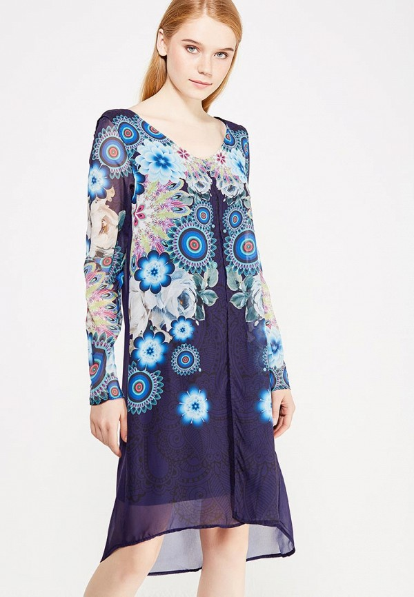 Платье Desigual Desigual DE002EWULC50 платье desigual 17wwvk44 2000