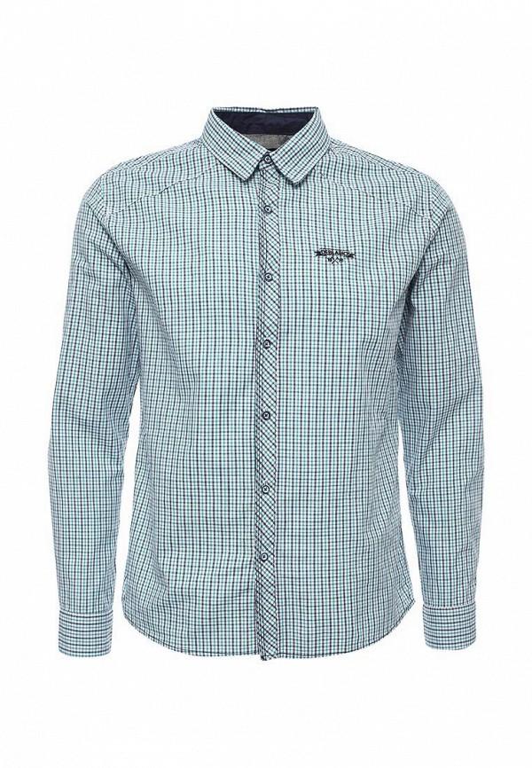 Купить мужскую рубашку Deblasio бирюзового цвета
