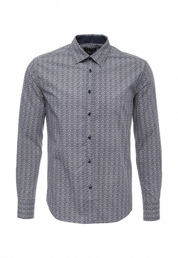 Фото - мужскую рубашку Deblasio синего цвета