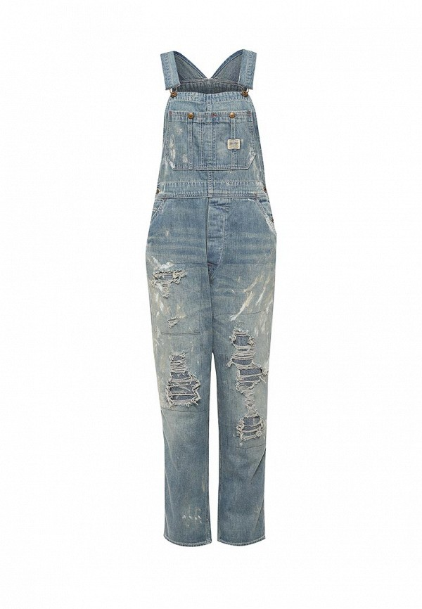 Комбинезон джинсовый Denim & Supply Ralph Lauren W24RLOLISDC0ZA4460