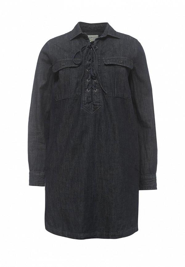 Платье Denim & Supply Ralph Lauren Denim & Supply Ralph Lauren DE023EWPEF20 lauren ralph lauren new blue stonewash women size large l denim jean jacket $139