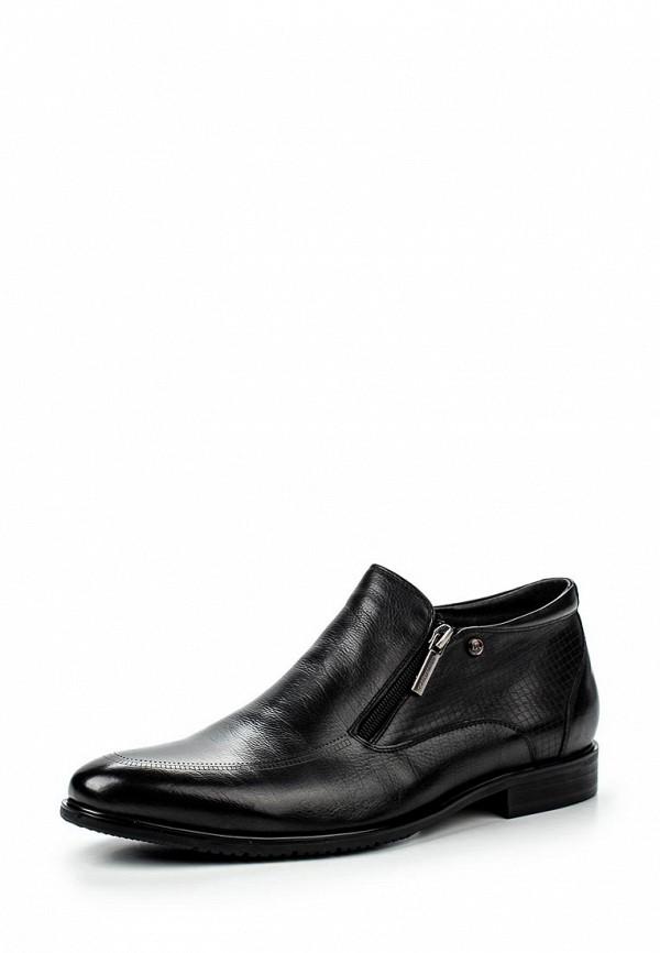Мужские черные осенние классические кожаные ботинки