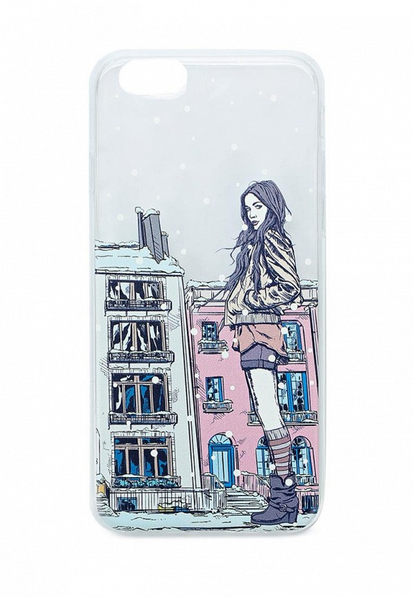 Чехол для iPhone diva diva DI006BWASJJ6 чехол для телефона iphone 6 plus new case цвет черный белый