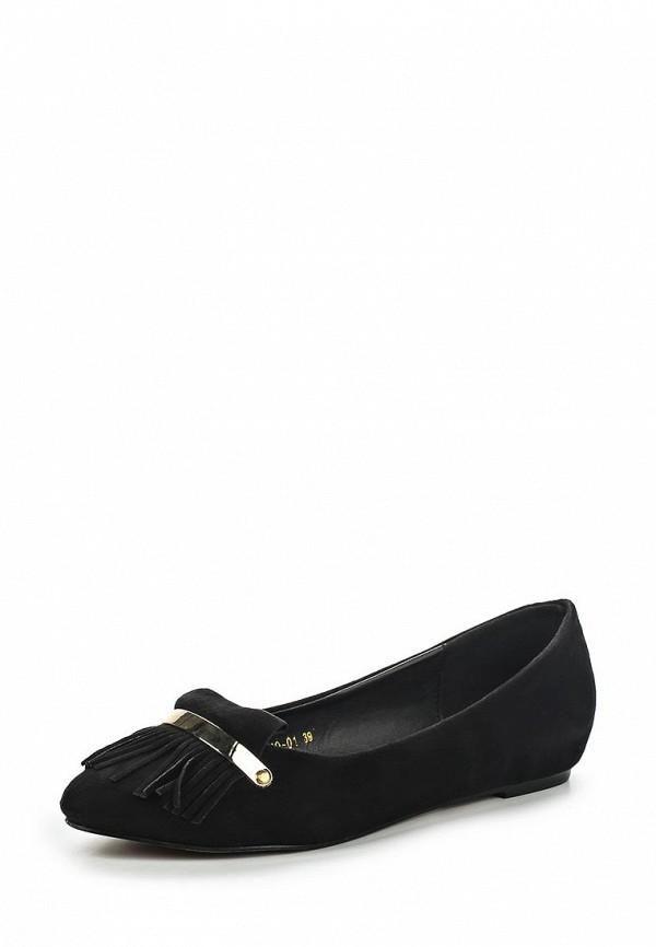 Туфли на плоской подошве Dino Ricci Select 467-10-01