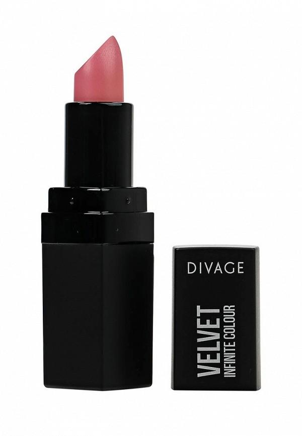 Помада для губ Divage матовая Velvet № 01