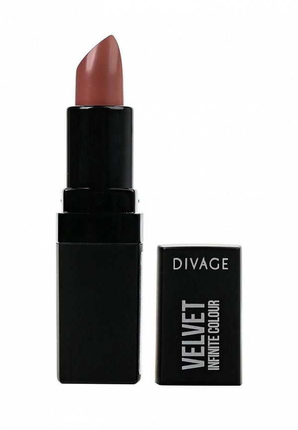 Помада для губ Divage матовая Velvet № 03