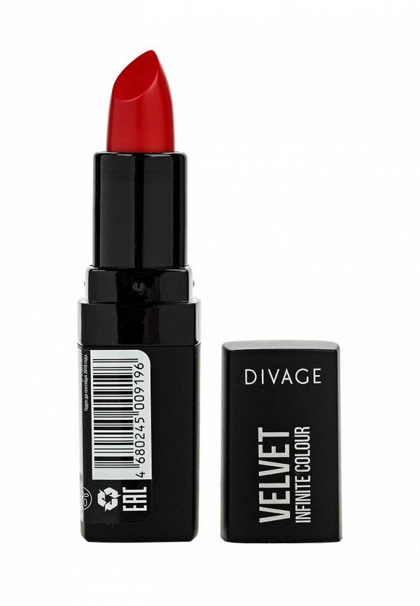 Помада для губ Divage Divage DI038LWJBQ16 divage bamboo chorcoal цвет с черной вставкой