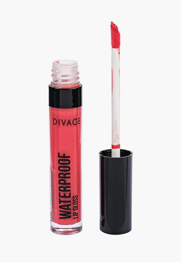Купить Блеск для губ Divage, Водостойкий Waterproof Lip Gloss № 03, DI038LWNUK92, розовый, Весна-лето 2018