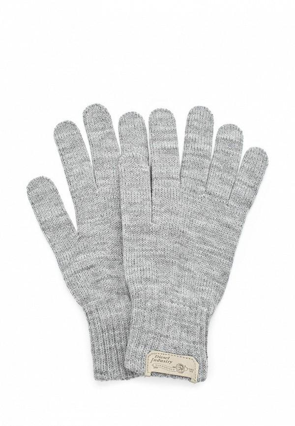 Перчатки Diesel DI303DMCUW62. Цвет: серый
