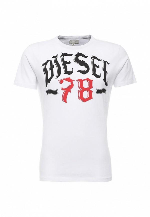Футболка с надписями Diesel (Дизель) T-LONAD_00SDG2_0091B_100