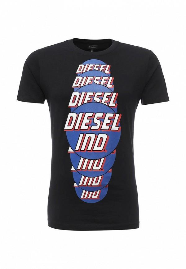 Футболка с надписями Diesel (Дизель) T-PALAGIA_00SI7X_0091B_900