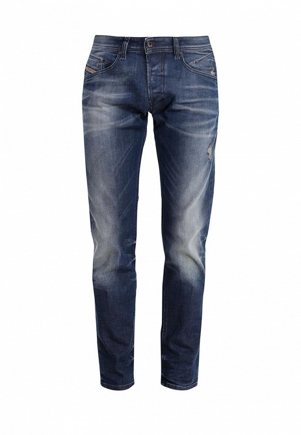Мужские прямые джинсы Diesel (Дизель) 0838D.00S4IP