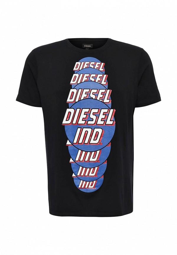 Футболка с надписями Diesel (Дизель) 00SI7X.0091B