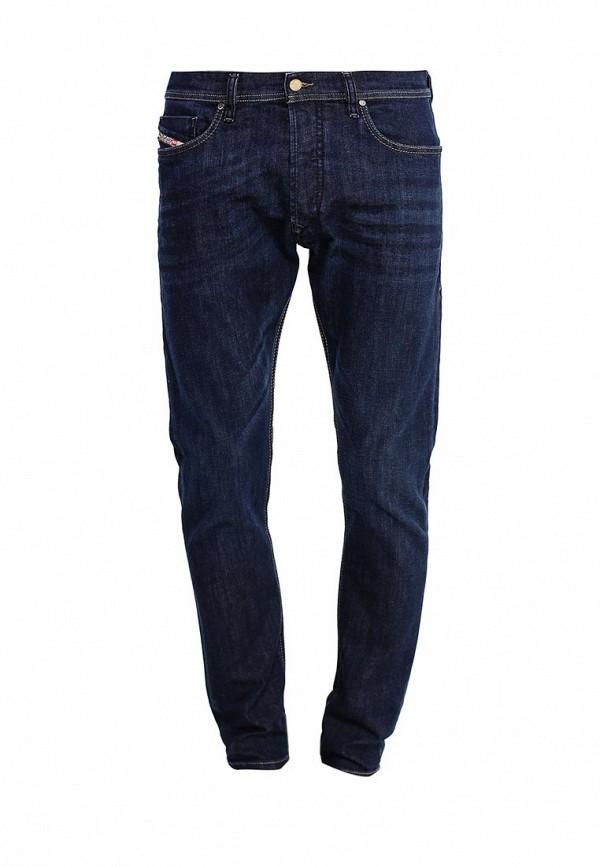 Купить мужские джинсы Diesel синего цвета