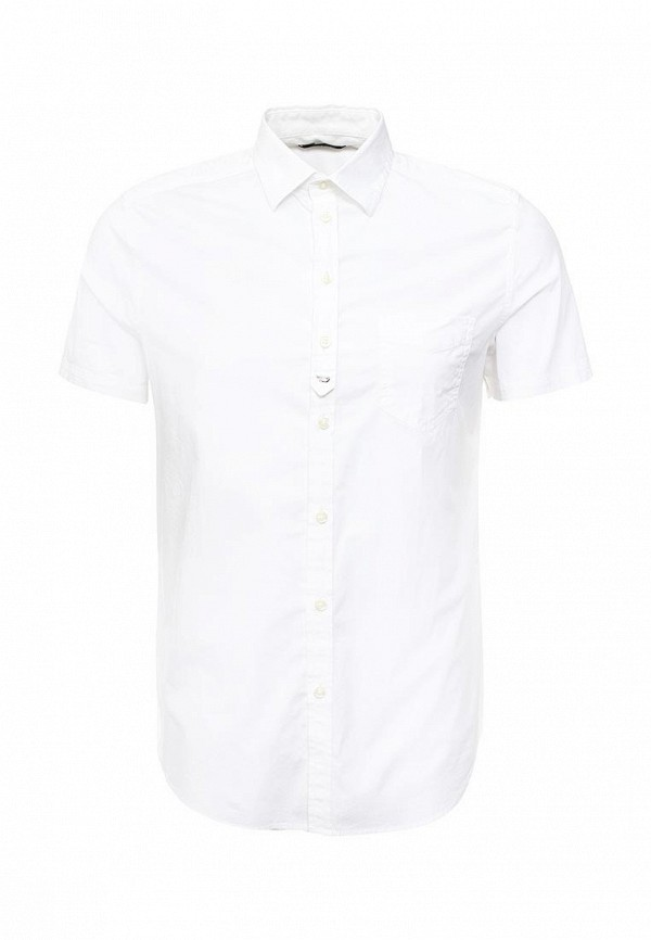 Купить мужскую рубашку Diesel белого цвета