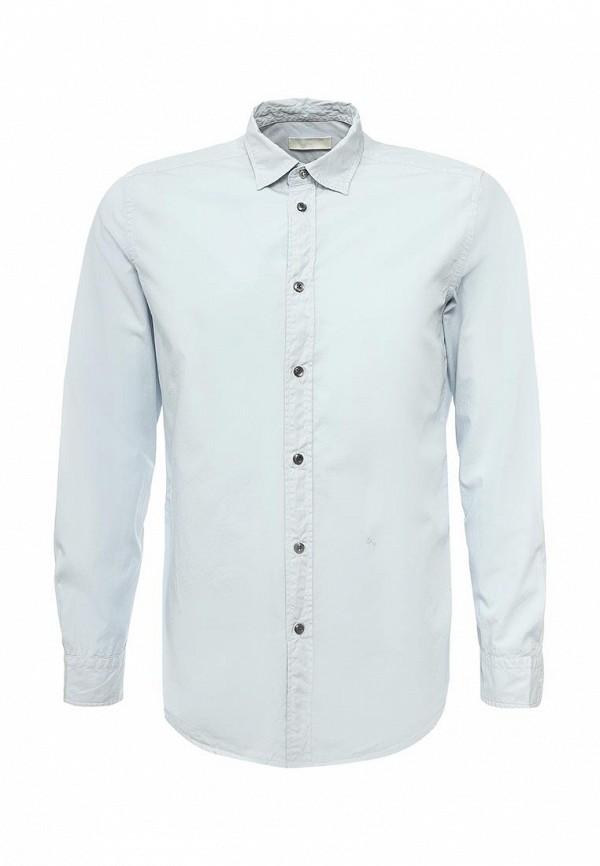 Купить мужскую рубашку Diesel голубого цвета