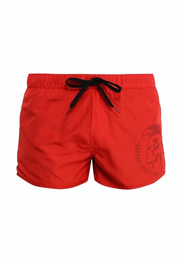 Купить Шорты для плавания Diesel цвет красный, черный