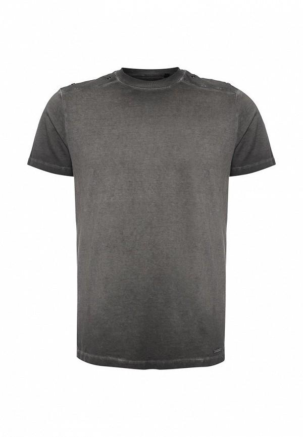 Купить мужскую футболку Diesel серого цвета