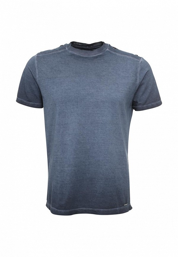 Купить мужскую футболку Diesel синего цвета