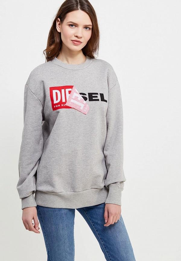 Свитшот Diesel Diesel DI303EWAISS9 свитшот diesel diesel di303emwli27
