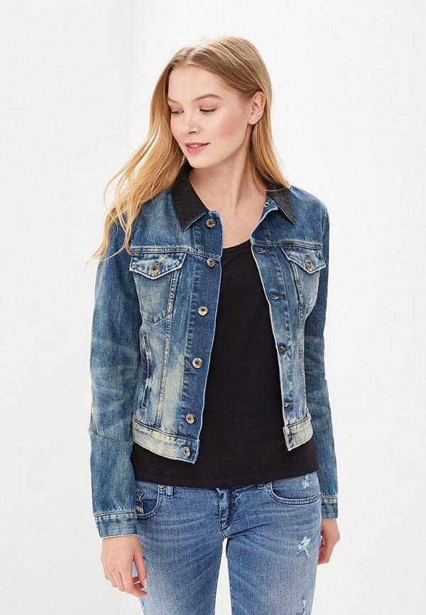 Куртка джинсовая Diesel цвет синий сезон весна, демисезон, лето страна Италия размер 42, 44, 46, 48