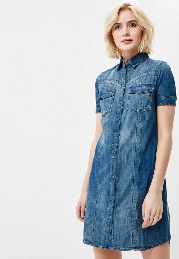 Фото Платье джинсовое Diesel. Купить с доставкой