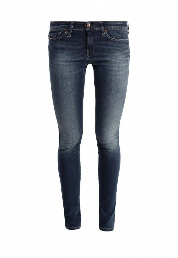 Фото - женские джинсы Diesel синего цвета