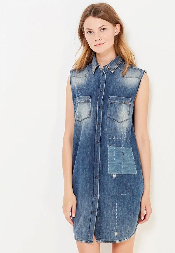 цены на Платье джинсовое Diesel Diesel DI303EWWLD73 в интернет-магазинах