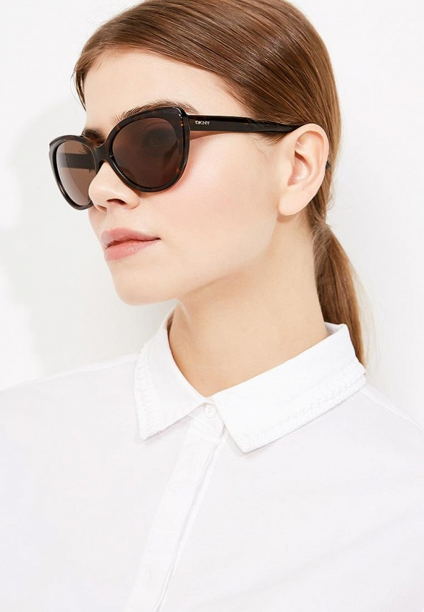 Очки солнцезащитные DKNY от Lamoda RU