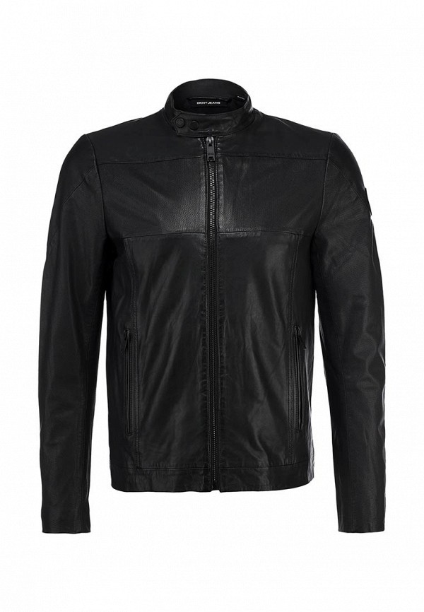 Куртка кожаная DKNY Jeans