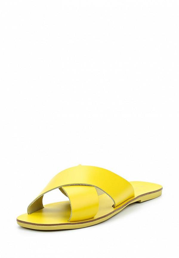 Купить Сабо Dorothy Perkins, DO005AWAHZB2, желтый, Весна-лето 2018