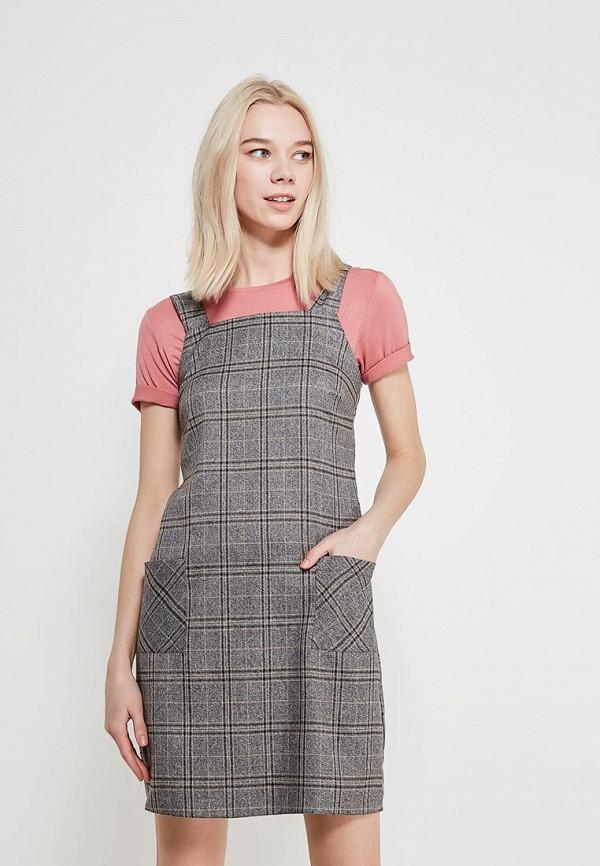 Купить Платье Dorothy Perkins, DO005EWAJEY6, серый, Весна-лето 2018