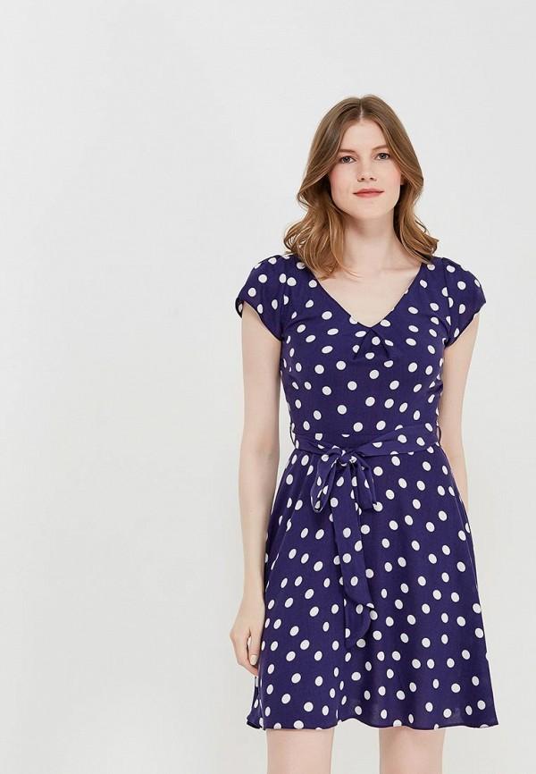 Купить Платье Dorothy Perkins, DO005EWAMML1, синий, Весна-лето 2018