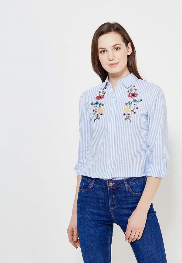 Купить Рубашка Dorothy Perkins, DO005EWAMMN5, голубой, Весна-лето 2018