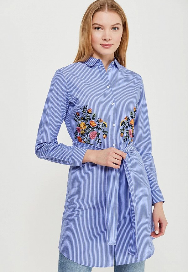 Купить Платье Dorothy Perkins, DO005EWAPCP5, синий, Весна-лето 2018