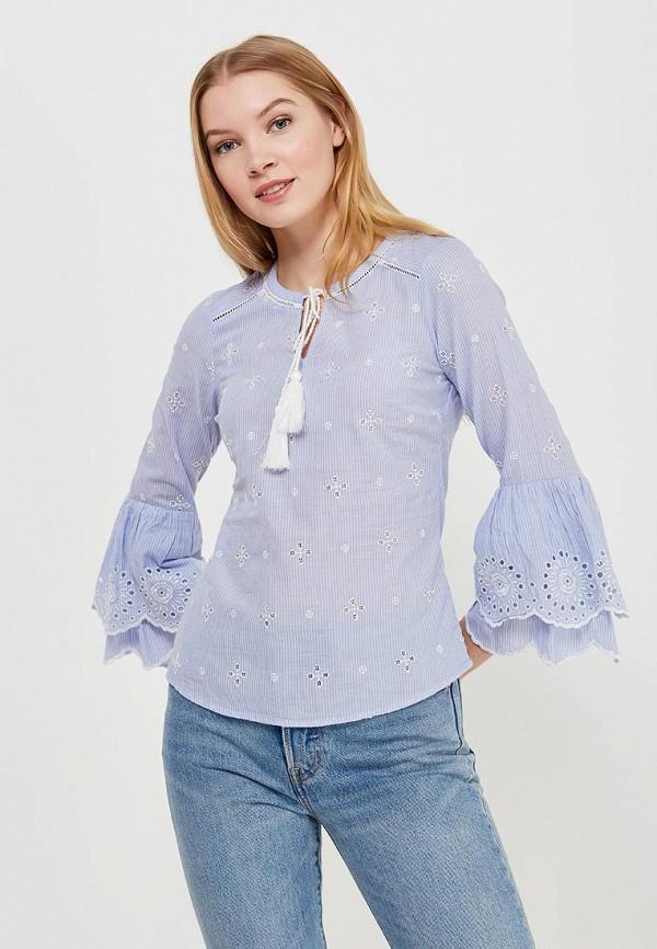Купить Блуза Dorothy Perkins, DO005EWAPCP6, голубой, Весна-лето 2018