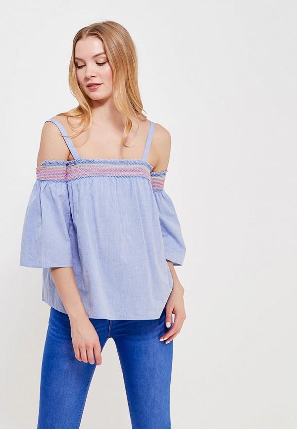 Купить Блуза Dorothy Perkins, DO005EWAQLE3, голубой, Весна-лето 2018