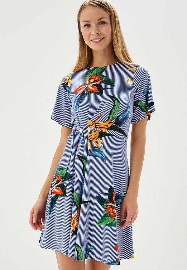 Купить Платье Dorothy Perkins, DO005EWBAJB9, голубой, Весна-лето 2018
