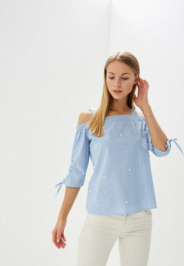 Купить Блуза Dorothy Perkins, DO005EWBAJJ2, голубой, Весна-лето 2018