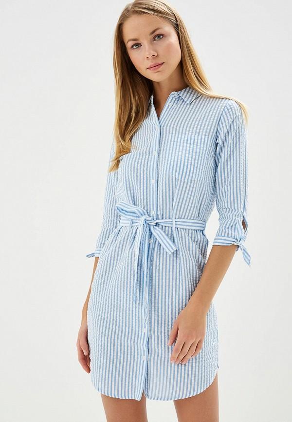 Купить Платье Dorothy Perkins, DO005EWBAJJ5, голубой, Осень-зима 2018/2019