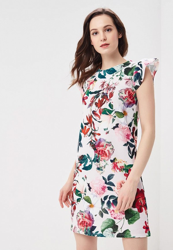 Купить Платье Dorothy Perkins, DO005EWBEUP6, белый, Весна-лето 2018