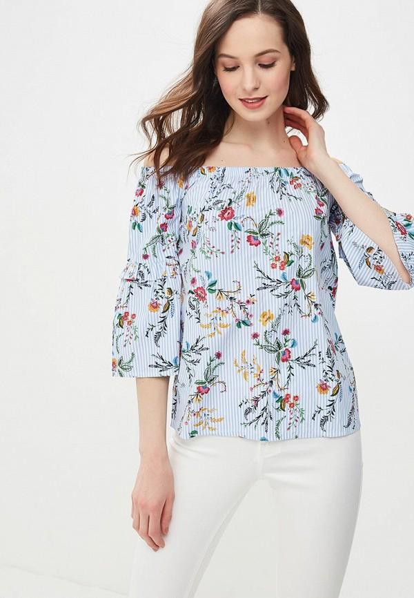 Купить Блуза Dorothy Perkins, DO005EWBHBD7, голубой, Весна-лето 2018