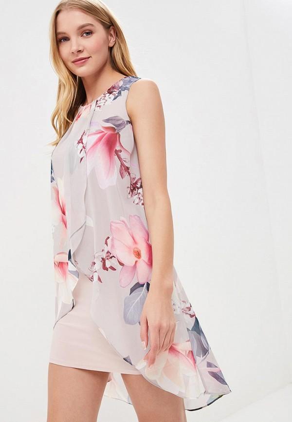 Купить Платье Dorothy Perkins, DO005EWBJDE6, серый, Весна-лето 2018