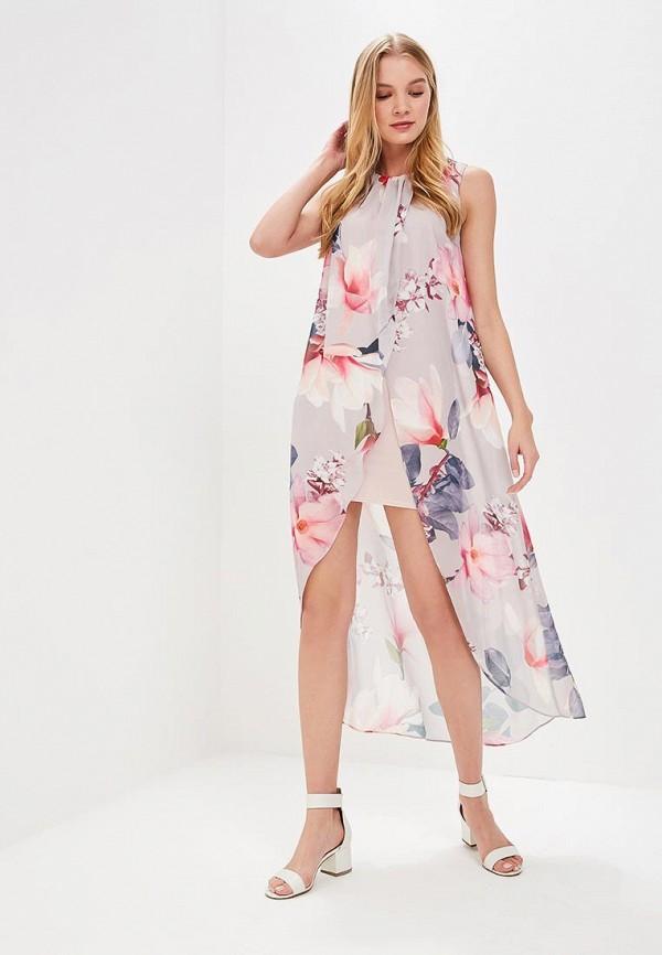 Купить Платье Dorothy Perkins, DO005EWBJDE7, серый, Весна-лето 2018