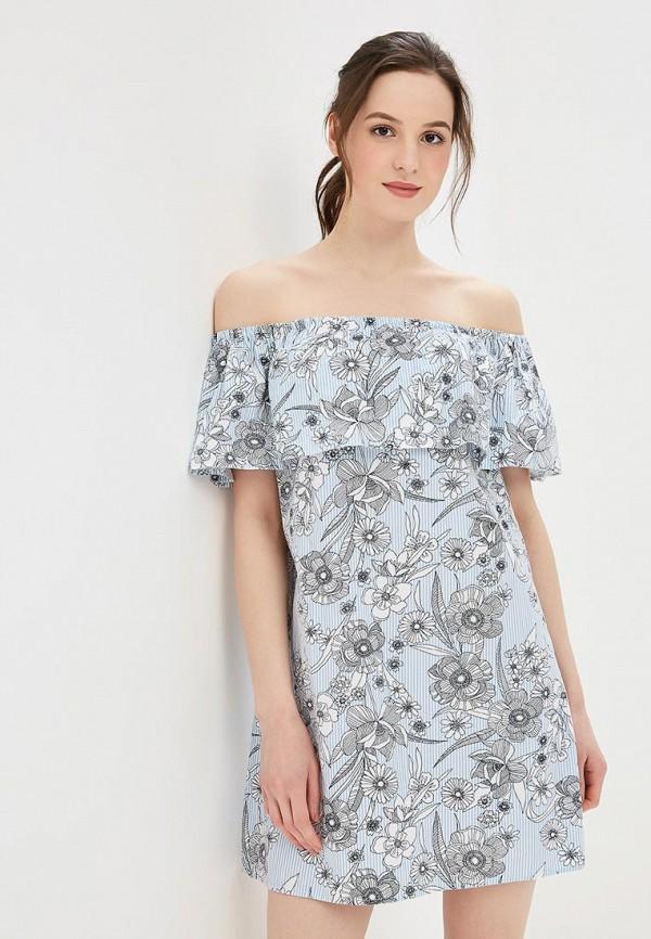 Платье Dorothy Perkins, DO005EWBJDH6, голубой, Весна-лето 2018  - купить со скидкой